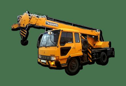Услуги автокрана в Томске, услуги спецтехники, почасовая аренда спецтехники от компании АвтоСтрой70